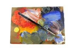 Het palet van de schilder Royalty-vrije Stock Afbeelding