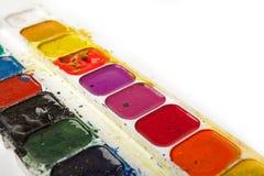 Het Palet van Watercolour Royalty-vrije Stock Foto's