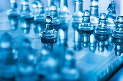 Het pand van het schaak stock foto