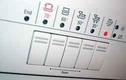 Het paneel van de afwasmachine royalty-vrije stock foto's