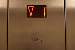 Het paneel van de lift Royalty-vrije Stock Fotografie
