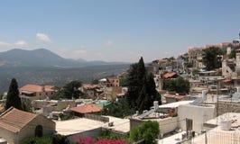 Het panorama 2008 van Safed Royalty-vrije Stock Foto