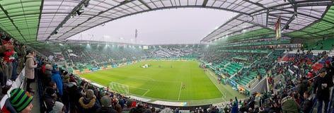 Het panorama van Allianzstadion in Wenen royalty-vrije stock foto's