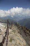 Het panorama van alpen Royalty-vrije Stock Fotografie