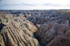 Het Panorama van Badlands stock foto's