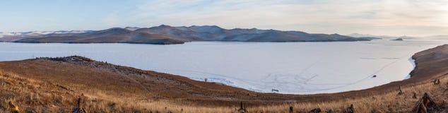 Het panorama van Baikal Stock Foto