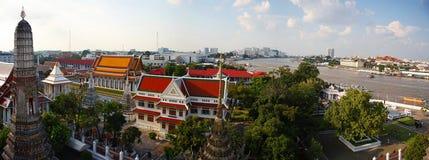 Het panorama van Bangkok Stock Foto