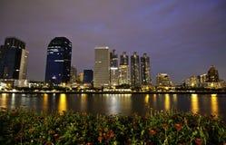Het Panorama van Bangkok Stock Afbeeldingen