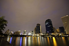 Het Panorama van Bangkok Royalty-vrije Stock Foto