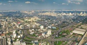 Het panorama van Bangkok Stock Fotografie