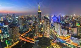 Het panorama van Bangkok Royalty-vrije Stock Afbeeldingen