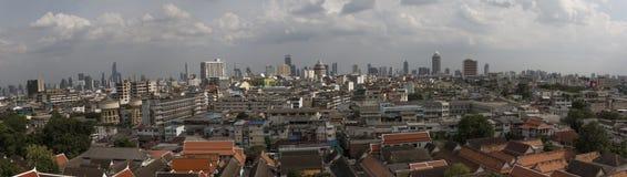 Het panorama van Bangkok, Thailand Royalty-vrije Stock Afbeelding