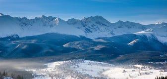 Het panorama van bergen Royalty-vrije Stock Fotografie