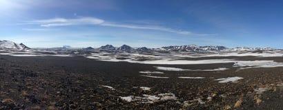 Het panorama van het bergketenlandschap Royalty-vrije Stock Afbeeldingen