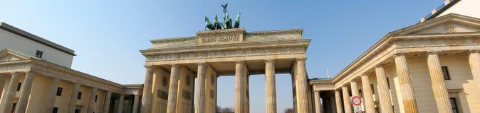 Het panorama van Berlijn stock foto's