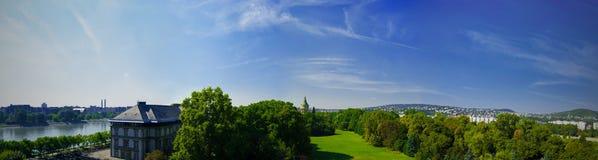 Het Panorama van Boedapest Royalty-vrije Stock Foto