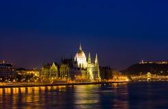 Het panorama van Boedapest Stock Fotografie