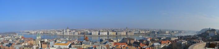 Het panorama van Boedapest Royalty-vrije Stock Afbeeldingen