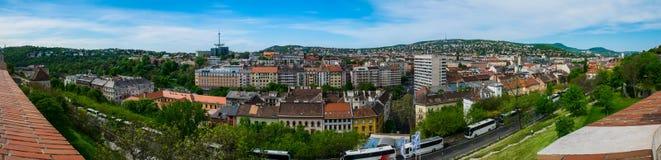 Het panorama van Boedapest Stock Afbeelding