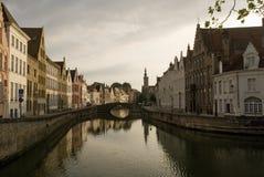 Het panorama van Brugge Royalty-vrije Stock Afbeelding