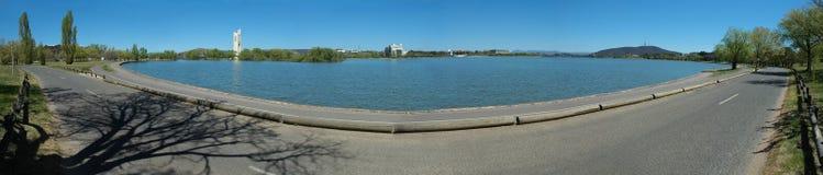 Het panorama van Canberra royalty-vrije stock foto
