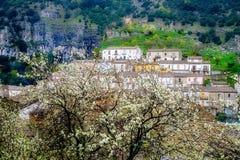Het Panorama van Cerchiaradi Calabrië royalty-vrije stock fotografie