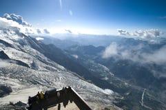 Het panorama van Chamonix Royalty-vrije Stock Foto's