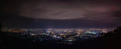Het panorama van Chiangmai Royalty-vrije Stock Foto