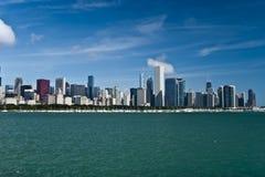 Het panorama van Chicago Stock Afbeelding