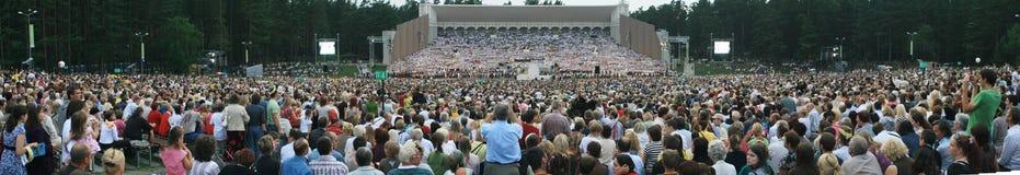 Het panorama van de arena Stock Foto's