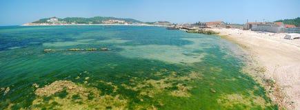 Het panorama van de baai royalty-vrije stock afbeelding