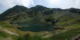 Het panorama van de berg stock fotografie