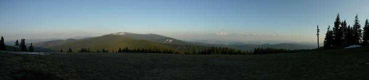 Het panorama van de berg Royalty-vrije Stock Fotografie