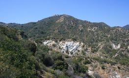 Het Panorama van de Canion van Ynez van de kerstman Royalty-vrije Stock Foto