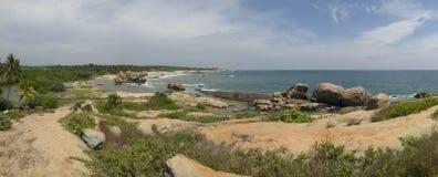 De lijn van de kust Royalty-vrije Stock Afbeeldingen