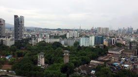 Het panorama van de Guangzhoustad royalty-vrije stock afbeeldingen