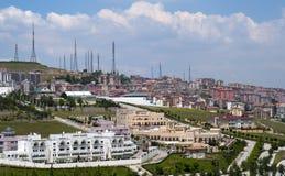 Het Panorama van de Helling van Ankara stock foto's