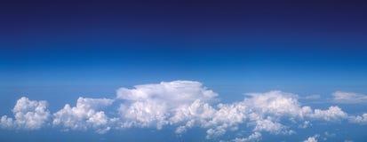 Het panorama van de hemel. Stock Afbeelding