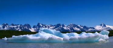 Het Panorama van de ijsschots Royalty-vrije Stock Fotografie
