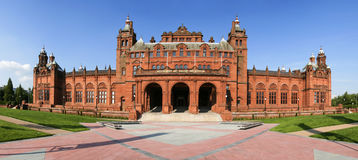Het panorama van de kunstgalerie Royalty-vrije Stock Afbeeldingen