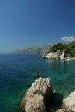Het Panorama van de kust Royalty-vrije Stock Foto