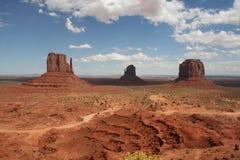 Het panorama van de monumentenvallei Royalty-vrije Stock Fotografie