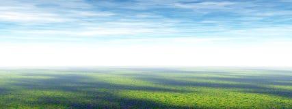 Het panorama van de prairie Stock Afbeeldingen