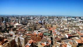 Het panorama van de stad royalty-vrije stock afbeeldingen