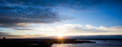 Het panorama van de stad Royalty-vrije Stock Foto