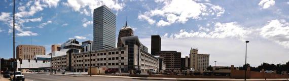 Het Panorama van de Stad van Oklahoma Stock Foto's