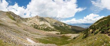 Het Panorama van de Tenmilewaaier, Rocky Mountains, Colorado stock afbeelding