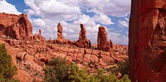 Het panorama van de woestijn royalty-vrije stock foto's