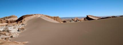 Het panorama van de woestijn Royalty-vrije Stock Fotografie