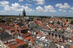 Het panorama van Delft royalty-vrije stock fotografie